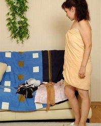 Застукали порно порно одинокая соседка