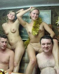 Фото свингеры в бане — img 4